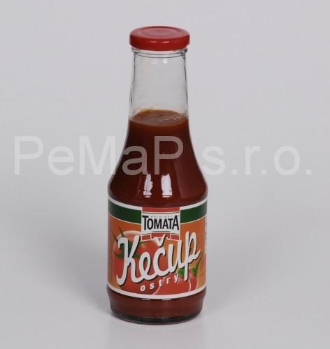 Kečup ostrý 500g (prodejné v e-shopu od 2ks)
