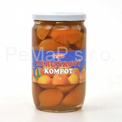 Meruňky půlené  720ml