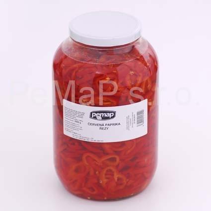 Paprika červená - řezy S4/1
