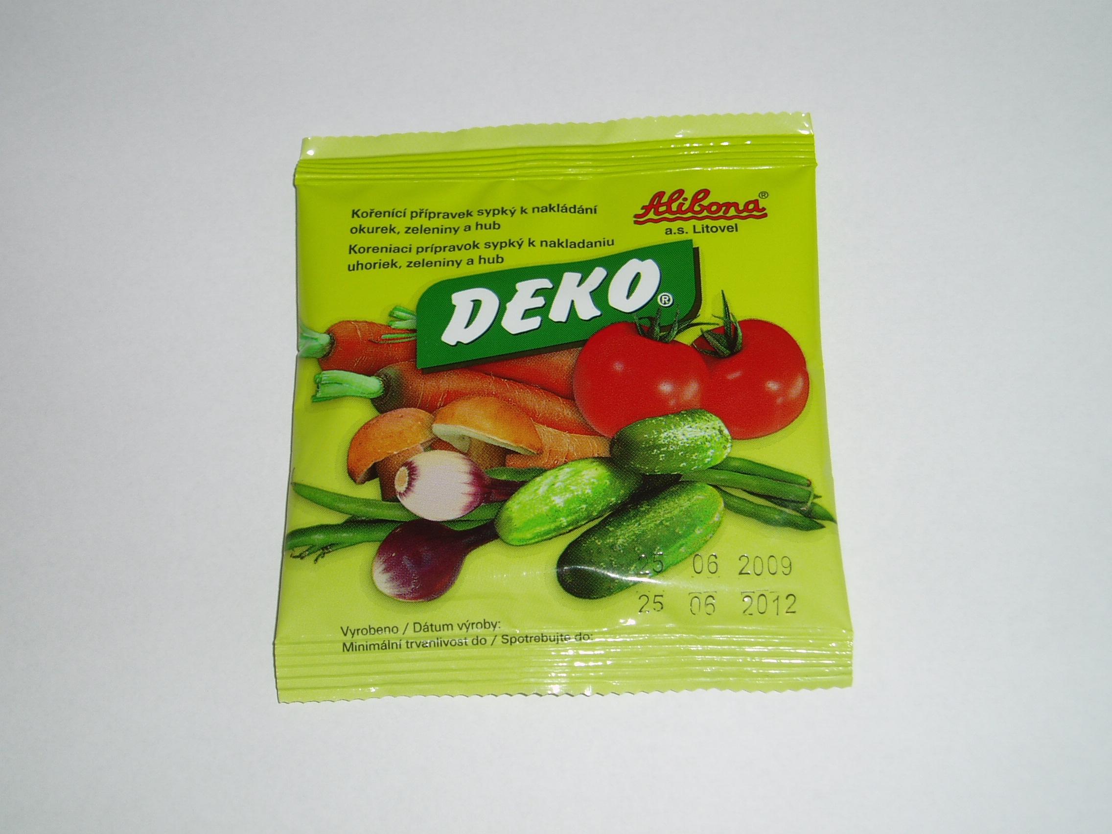DEKO 100g (pouze po kartonu)