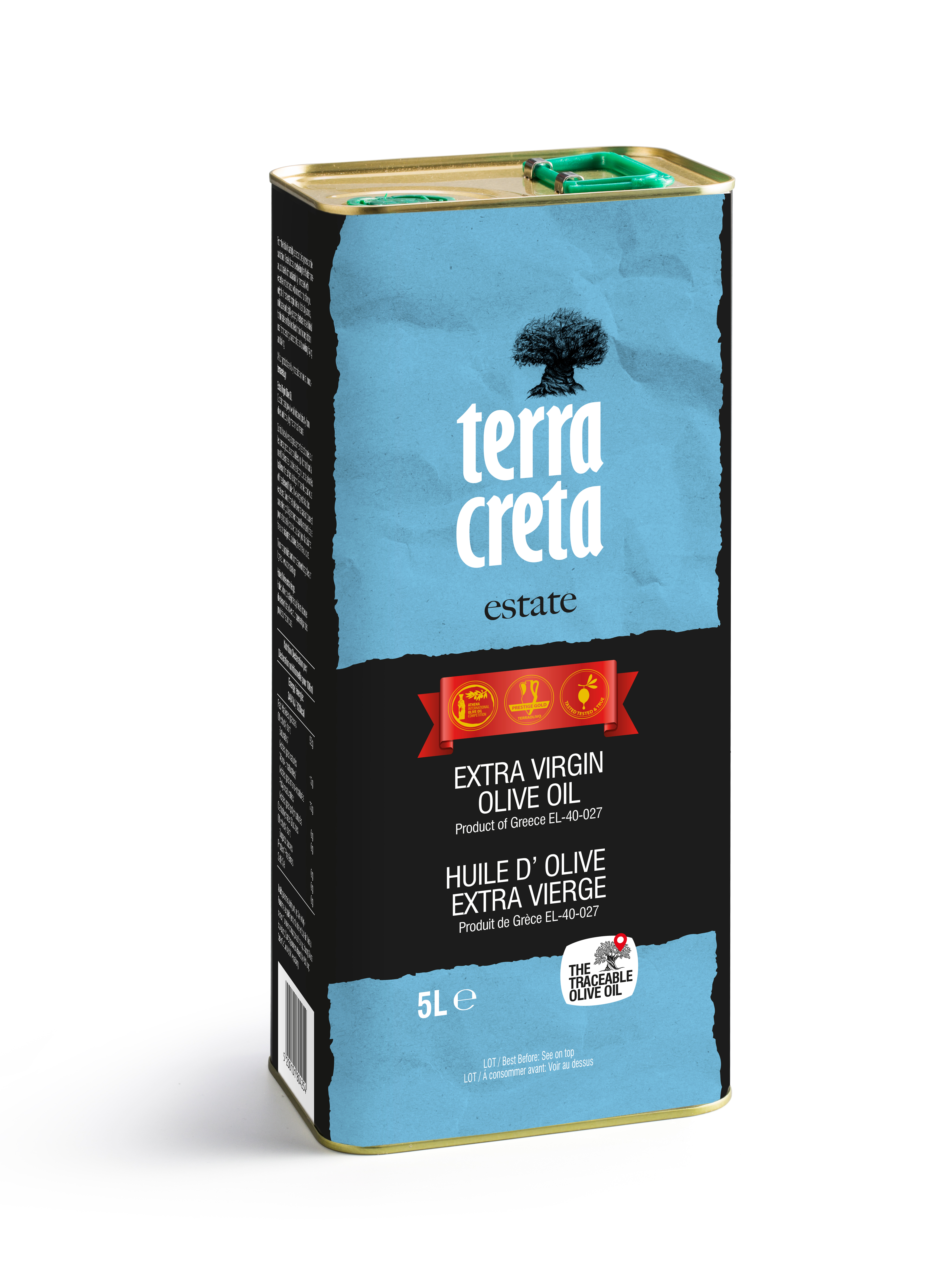 Terra Creta extra virgin olej 5l plech
