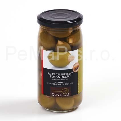 Řecké olivy  S MANDLÍ